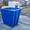 мусорный бак,  усиленный толщиной 2, 0 мм #1540749