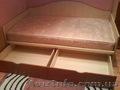 Продам кровать вместе с ортопедическим матрасом