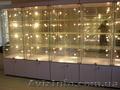 Изготовление торговых витрин,  прилавков,  стеллажей